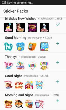 Birthday Stickers For Whatsapp - WAStickerApps screenshot 1