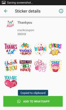 Birthday Stickers For Whatsapp - WAStickerApps screenshot 2