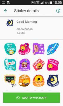 Birthday Stickers For Whatsapp - WAStickerApps screenshot 5