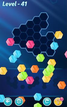 ¡Bloques! Puzle Hexagonal captura de pantalla 11