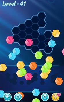 方塊!六角拼圖 截圖 1