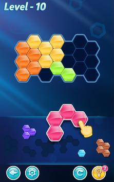¡Bloques! Puzle Hexagonal captura de pantalla 5