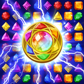 Jewels Magic: Mystery Match3 v21.0408.00 (Modded)