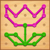 Line Puzzle: Color String Art आइकन