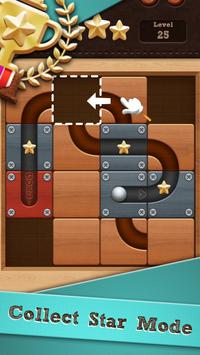 Roll the Ball® - slide puzzle poster