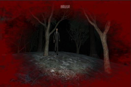 Slender man by Bitmogade screenshot 2