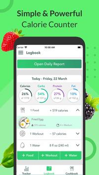 Calorie Counter, Carb Manager & Keto by Freshbit plakat