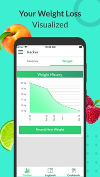 Calorie Counter, Carb Manager & Keto by Freshbit screenshot 4