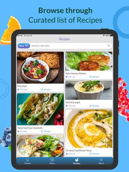 Calorie Counter, Carb Manager & Keto by Freshbit screenshot 5