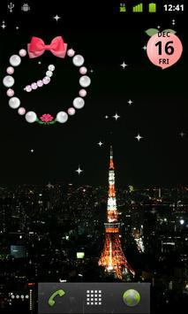 Shining stars live wallpaper poster