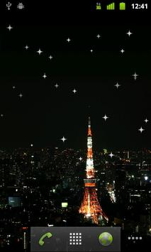 Shining stars live wallpaper screenshot 1