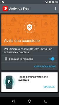 1 Schermata Bitdefender Antivirus Free