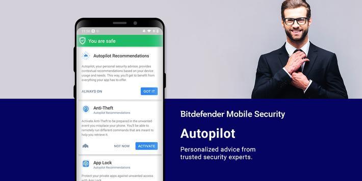 Bitdefender Mobile Security & Antivirus screenshot 4