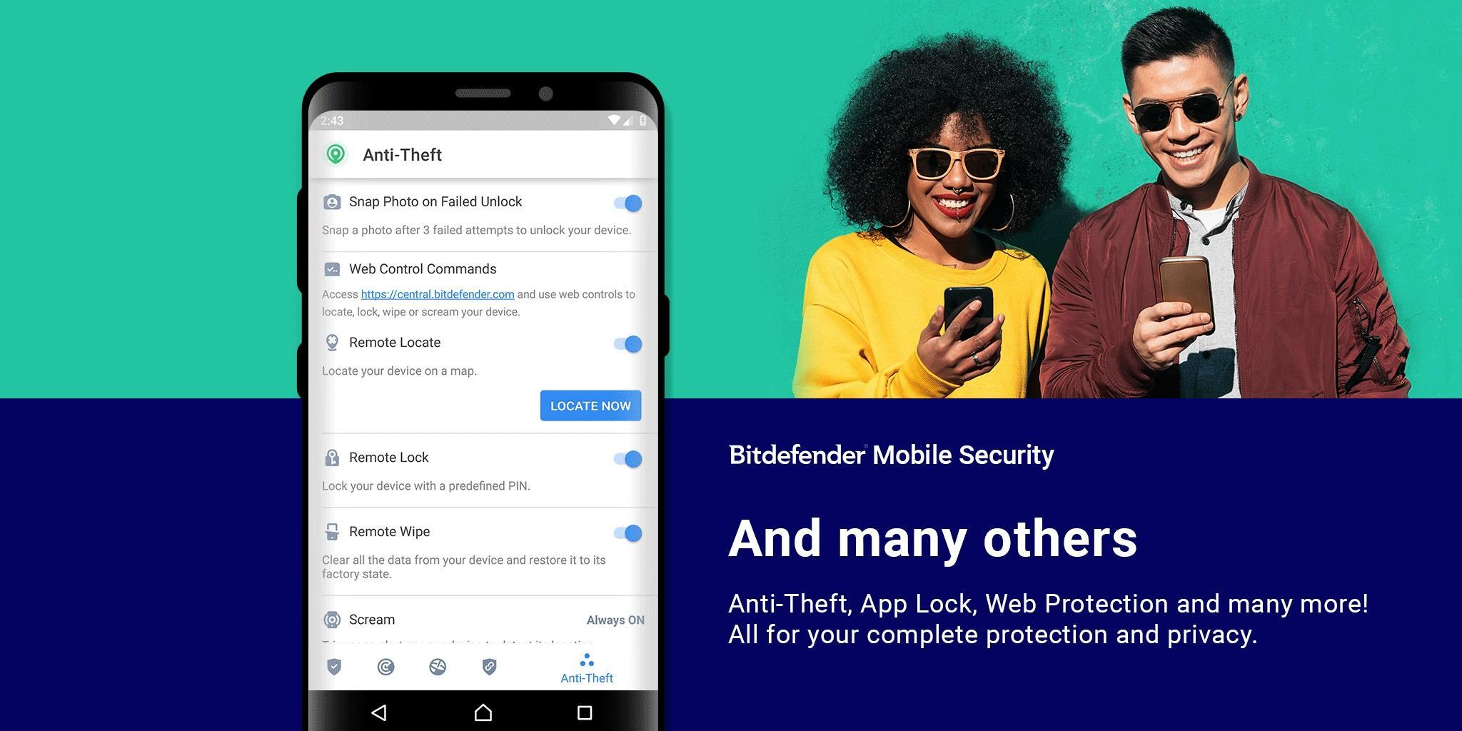 Bitdefender Mobile Security & Antivirus for Android - APK