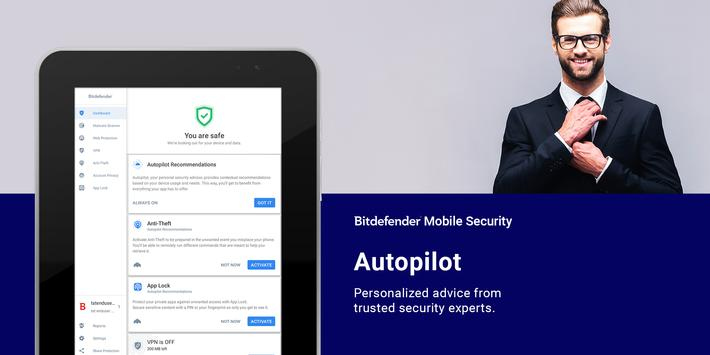 Bitdefender Mobile Security & Antivirus screenshot 9