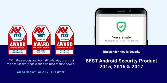 Bitdefender Mobile Security & Antivirus poster