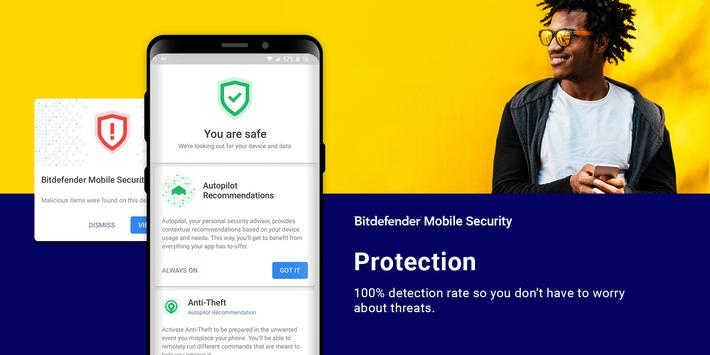 Bitdefender Mobile Security & Antivirus screenshot 1