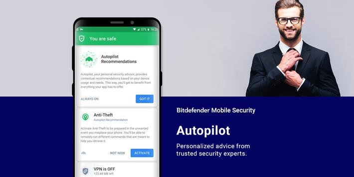Bitdefender Mobile Security & Antivirus screenshot 3