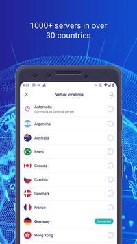 Bitdefender VPN screenshot 1