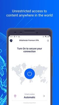 Bitdefender VPN screenshot 2