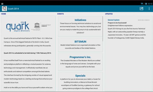 Quark 2014 screenshot 4