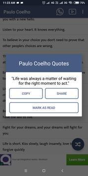 Paulo Coelho screenshot 4