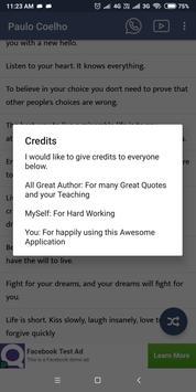 Paulo Coelho screenshot 7
