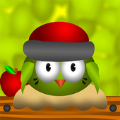 Bouncy Bird: Bounce on platforms find path puzzles icon