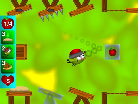 Bouncy Bird: Bounce on platforms find path puzzles screenshot 16