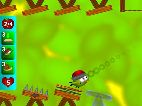 Bouncy Bird: Bounce on platforms find path puzzles screenshot 18
