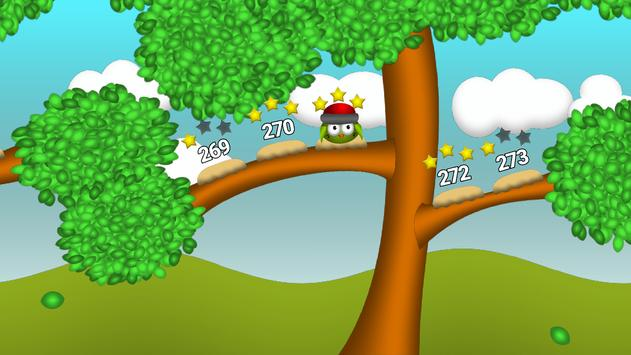 Bouncy Bird: Bounce on platforms find path puzzles screenshot 1
