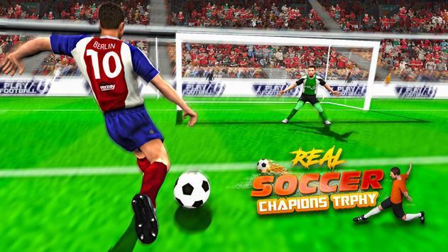 Real Soccer Star - Champions Trophy screenshot 3