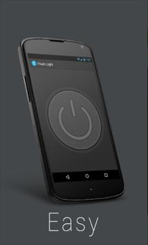 Turbo Torch-most easy use flashlight application poster