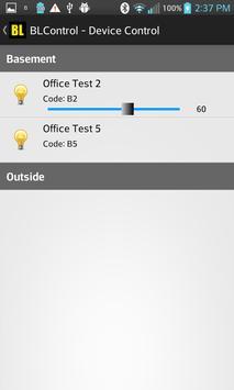 BLControl screenshot 2