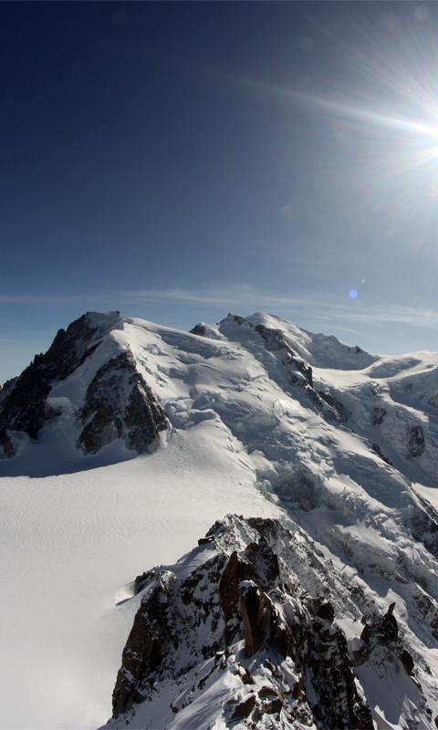 ... Mont Blanc Wallpaper تصوير الشاشة 2 ...