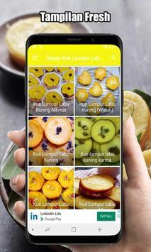 Resep Kue Lumpur Labu Kuning poster