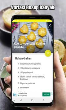 Resep Kue Lumpur Labu Kuning screenshot 2