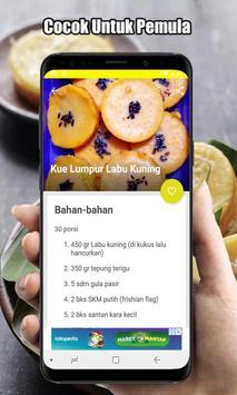 Resep Kue Lumpur Labu Kuning screenshot 4