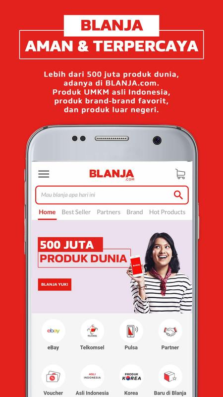BLANJA - Jual Beli Online for Android - APK Download on