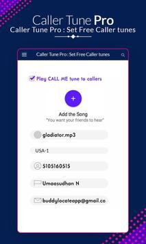 Caller Tune Pro - Set Free Caller Tunes screenshot 2