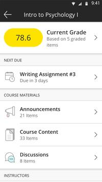 Blackboard screenshot 1