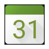Calendário do BlackBerry ícone