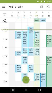 Calendário do BlackBerry imagem de tela 1