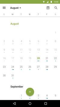Calendário do BlackBerry imagem de tela 2
