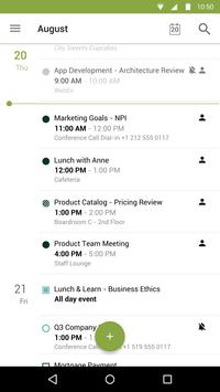 Calendário do BlackBerry imagem de tela 3