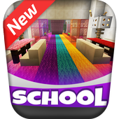 New High School 2019 Girls Funny Minigame MCPE icon