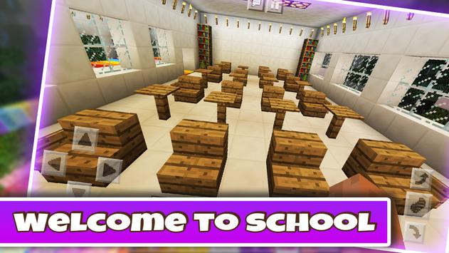 New High School 2019 Girls Funny Minigame MCPE screenshot 13