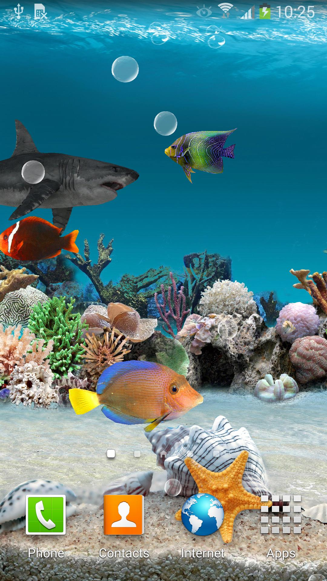 3d Aquarium Live Wallpaper For Android Apk Download