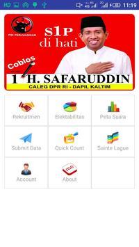H Safaruddin - Aplikasi Caleg Partai PDIP screenshot 1