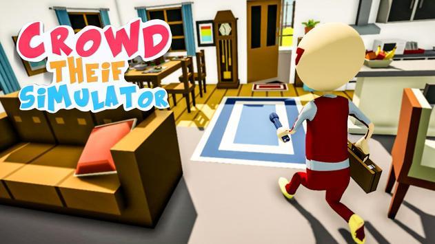 Crowd Thief Simulator poster